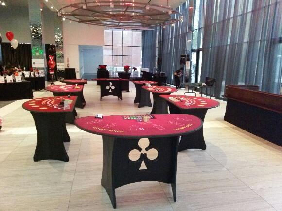 Casino Party Tables