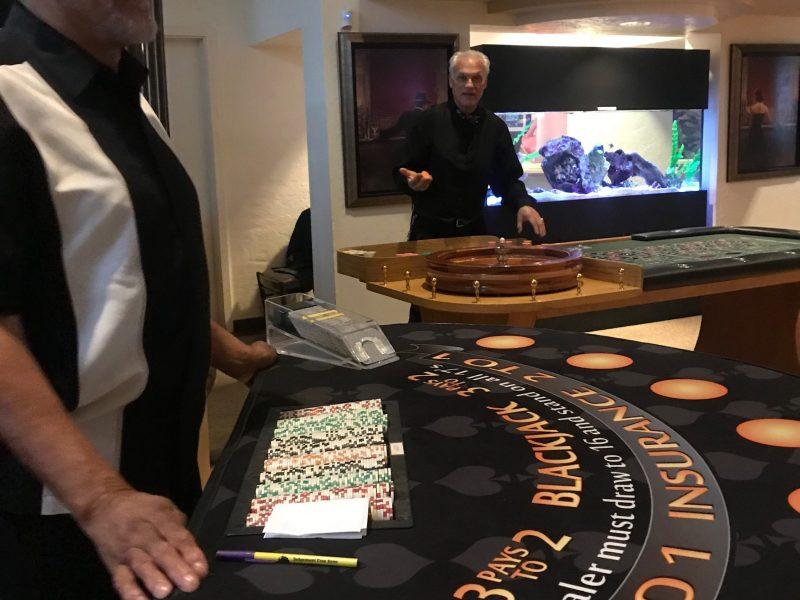 Casino Event Birthday Party