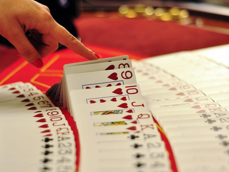 Casino Dealer Layout